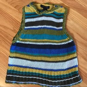 Express vintage knit tank top